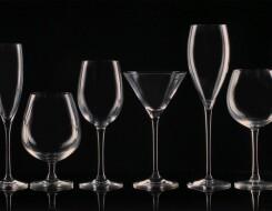 Виды бокалов по материалу изготовления