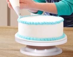 Поворотные подносы для декорирования тортов