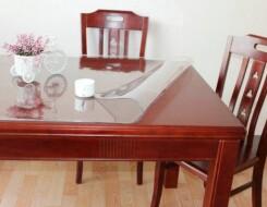 Прозрачные мягкие скатерти стекло для стола