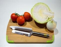 Шинковочный нож для капусты с двойным лезвием