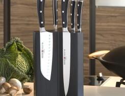 Магнитные подставки и настенные полоски для ножей