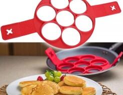 Силиконовые формы для выпекания оладий на сковороде
