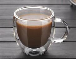 Прозрачные чашки для чая и кофе с двойными стенками