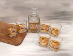 Подарочные наборы со стаканами для виски