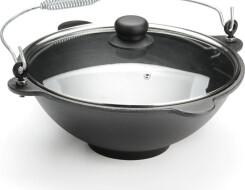 О чугунном казане для индукционной плиты и приготовления плова