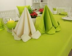 Красивое оформление стола салфетками: пошаговая инструкция