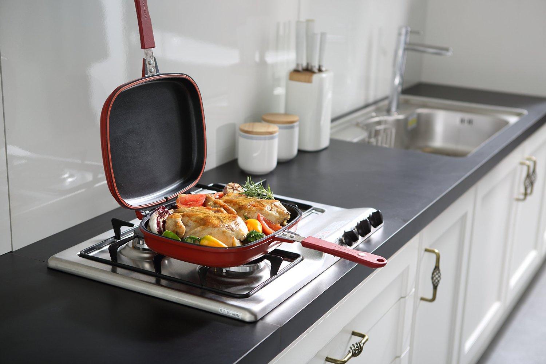 Фото двусторонней сковороды гриль