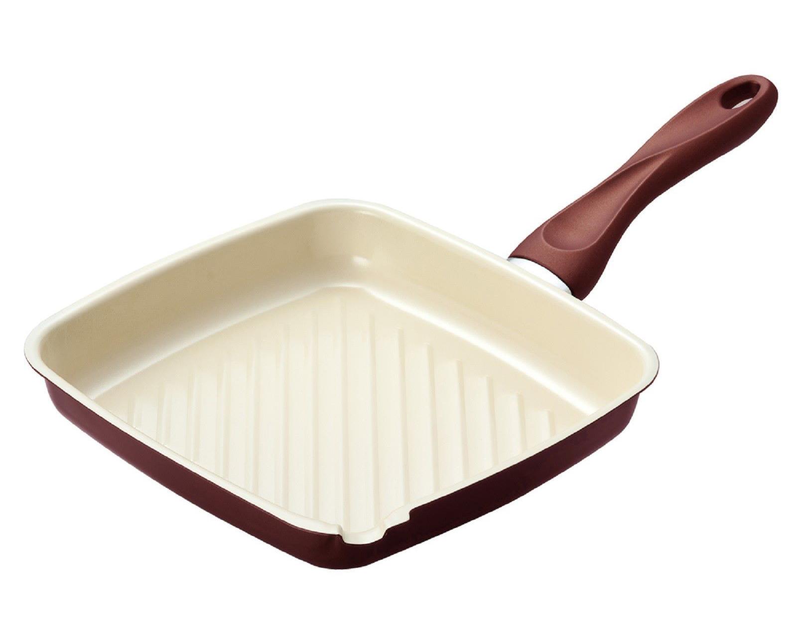 Фото керамической сковороды-гриль