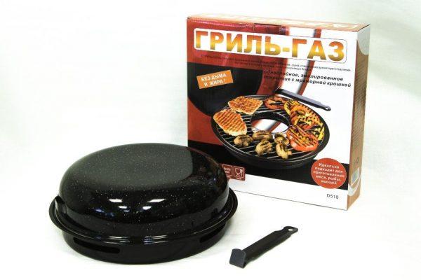 Что такое сковорода гриль для газовой плиты