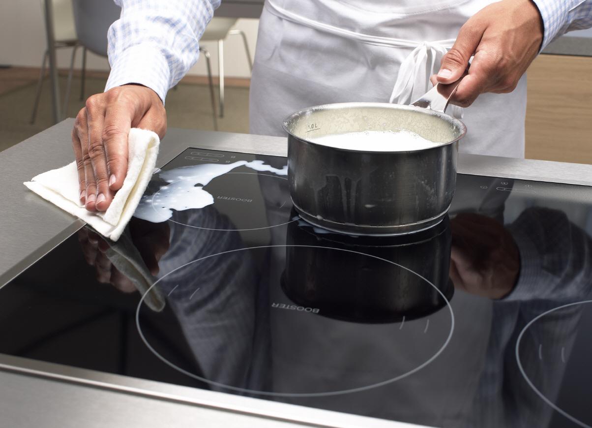 Как чистить индукционную плиту
