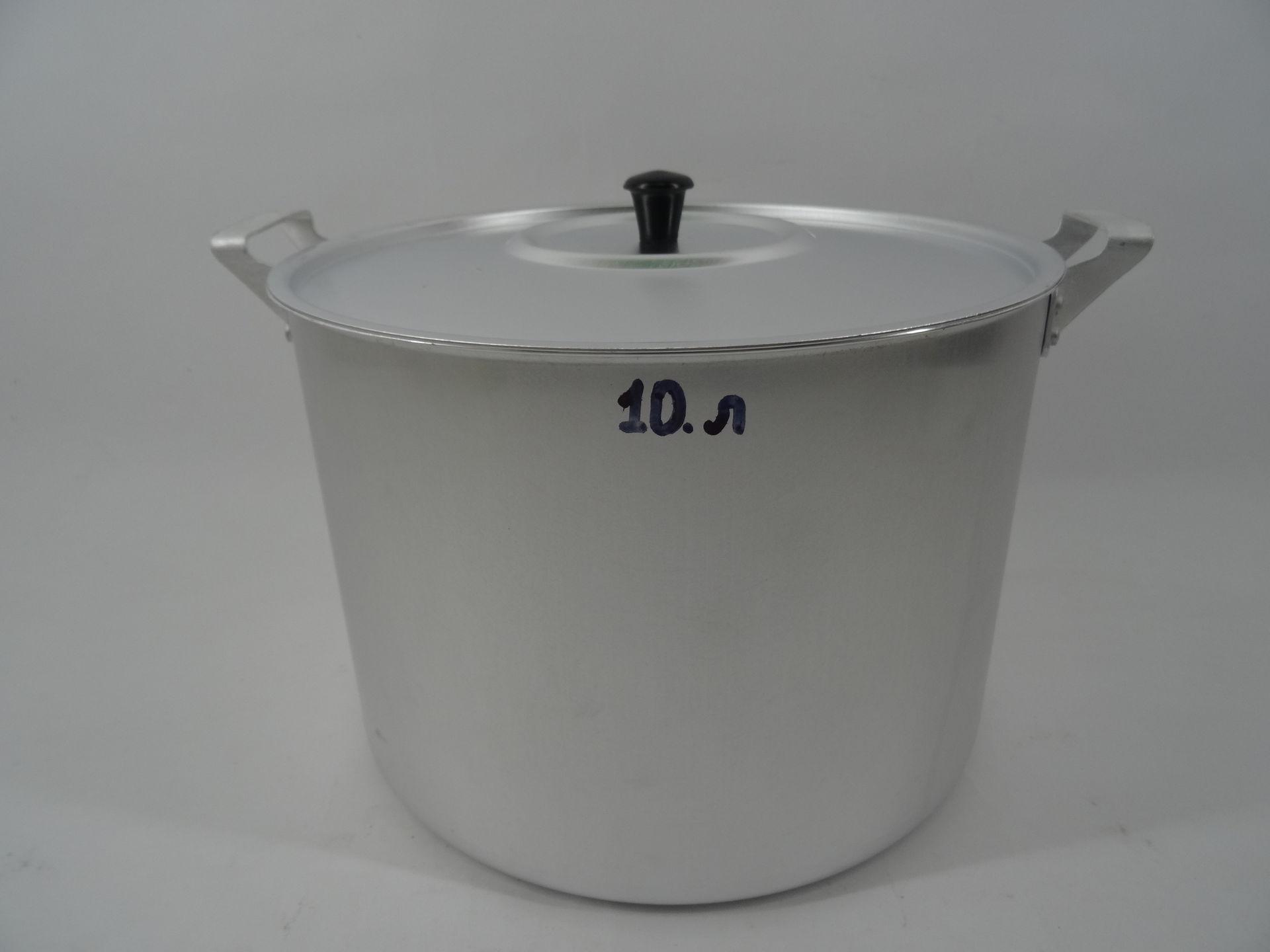 Фото алюминиевой кастрюли 10 литров