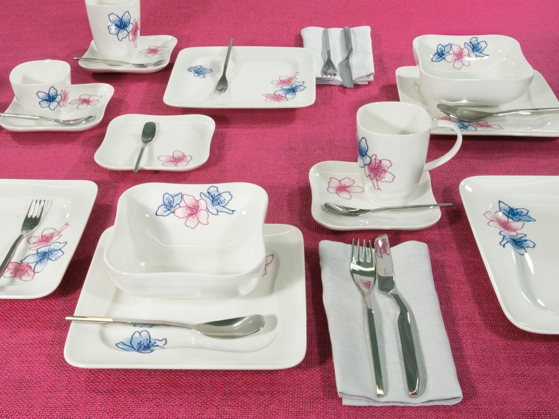 Фото фарфоровой посуды Vivo
