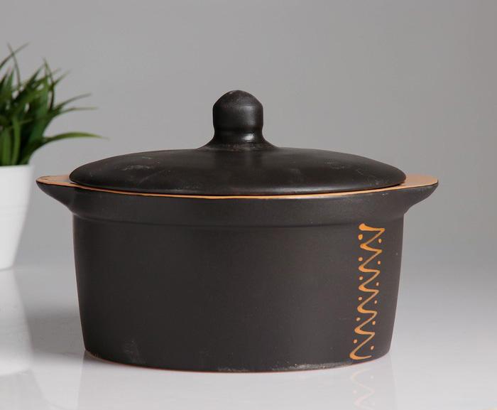 Керамическая кастрюля из чугуна