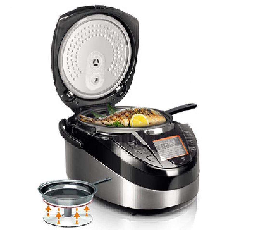 Мультиварка Редмонд со сковородой