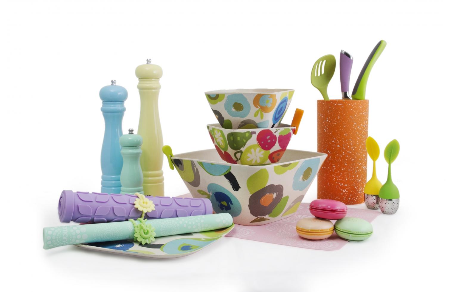 Посуда цветная fissman