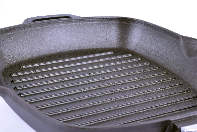 Поверхность сковороды гриль