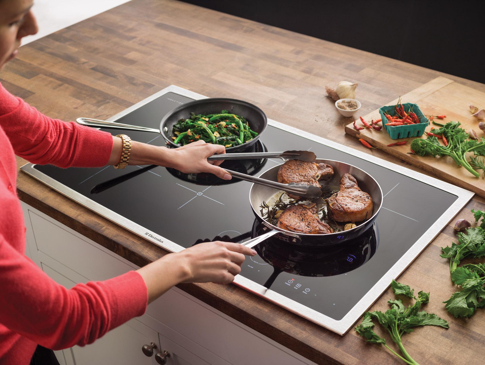 Сковороды на индукционной плите