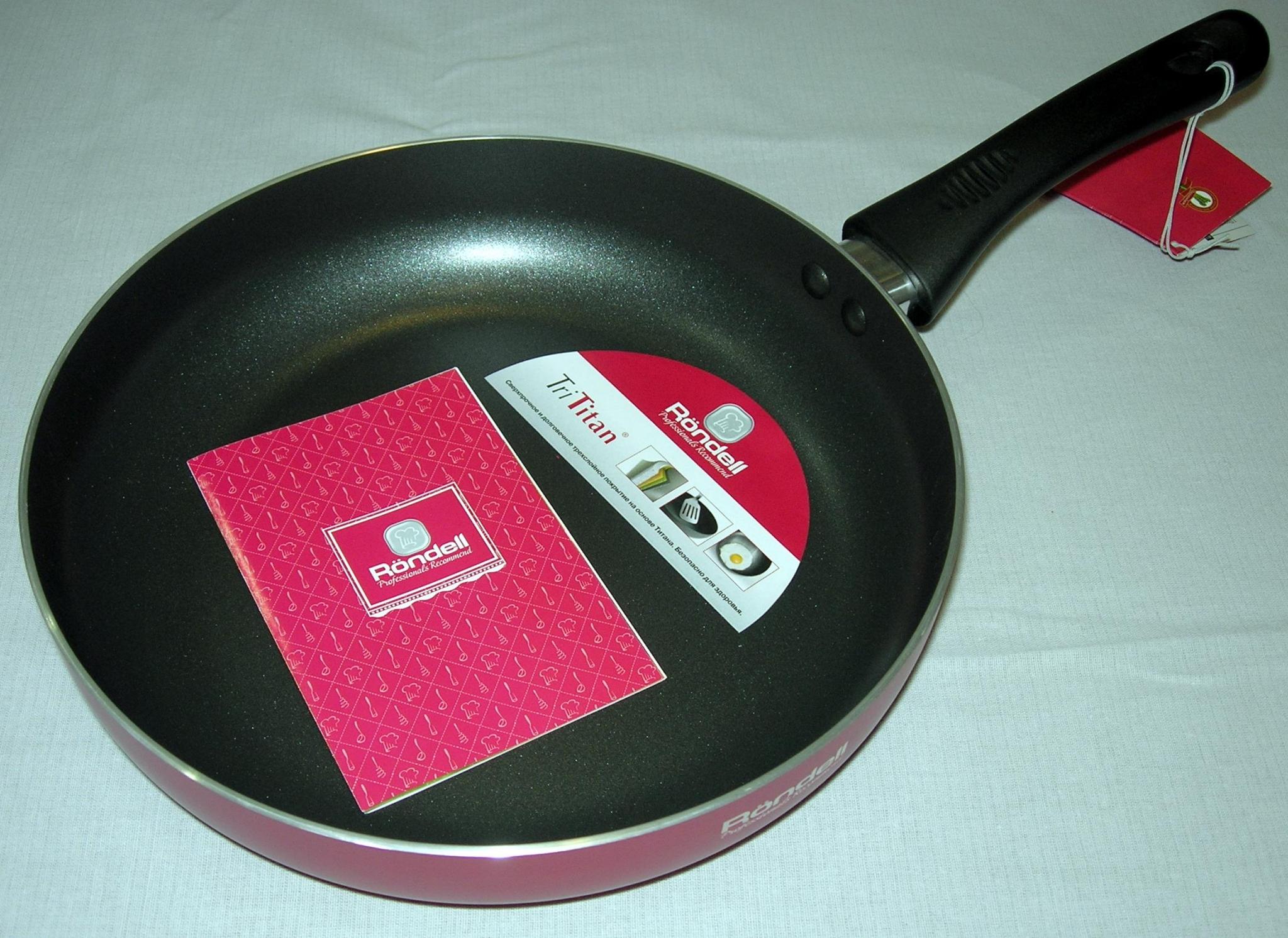 Фото сковороды Rondell из титана