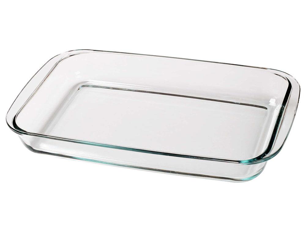 Фото стеклянной формы для духовки