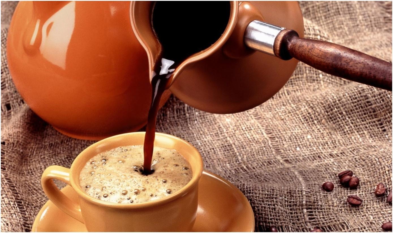 Фото турки с кофе