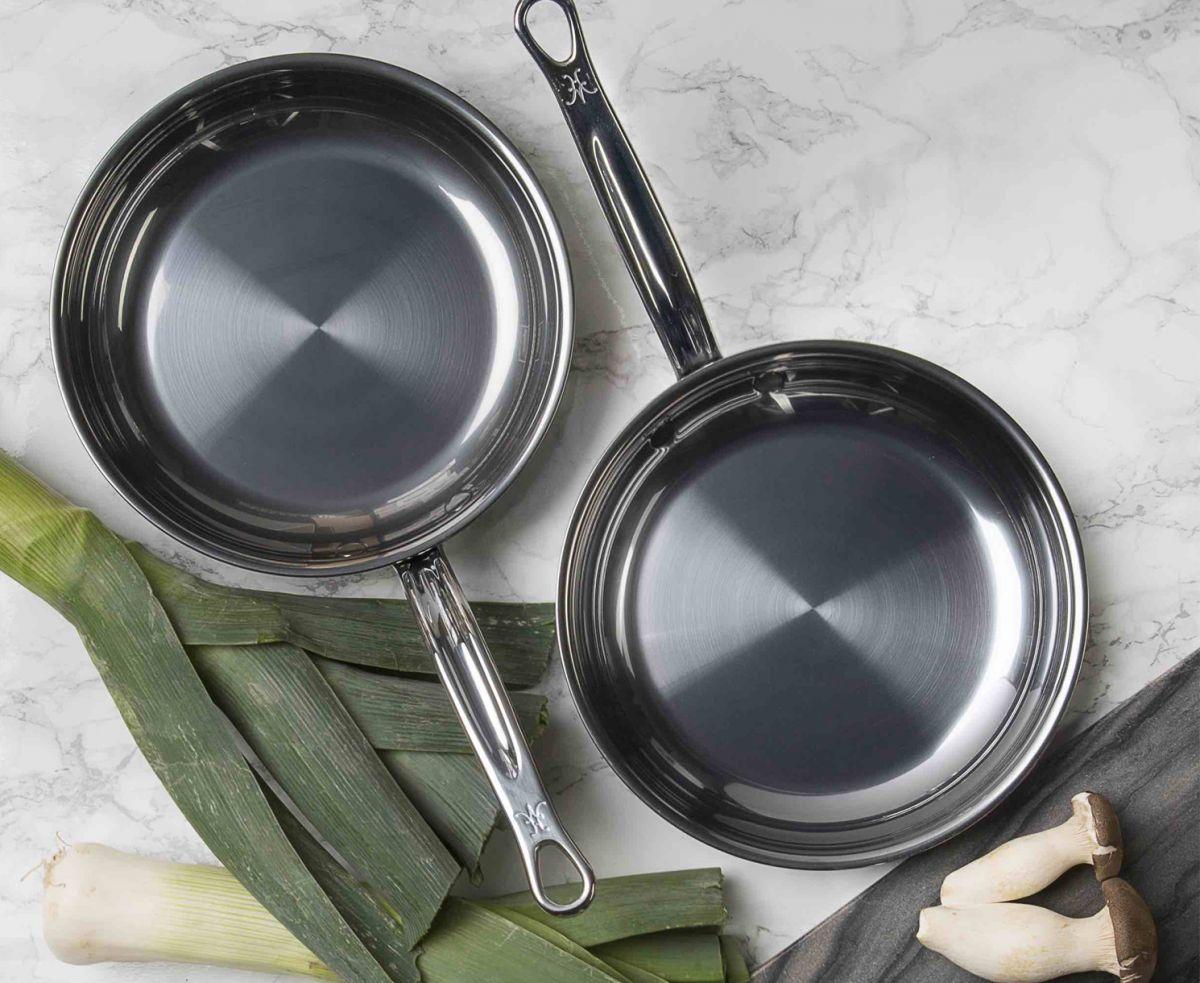 Сковородки с покрытием из оксида титана