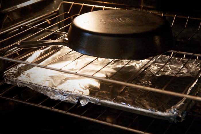 Прокаливание в духовке