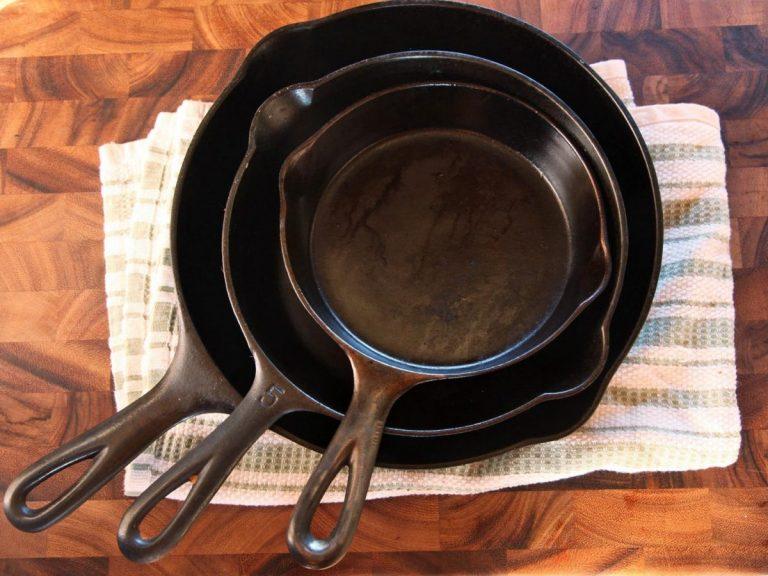 Причины появления ржавчины на сковороде