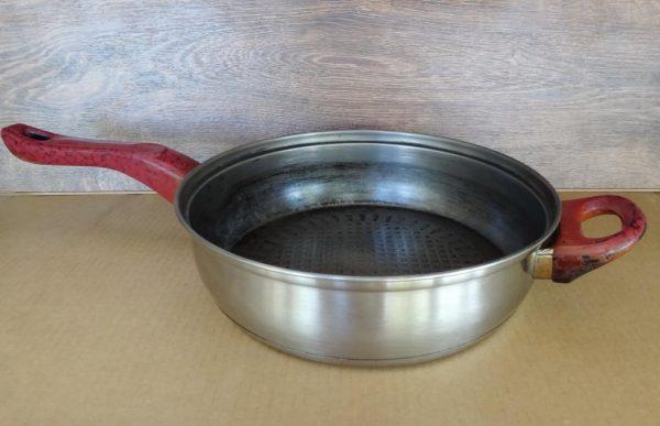 Недостатки нержавеющей сковороды