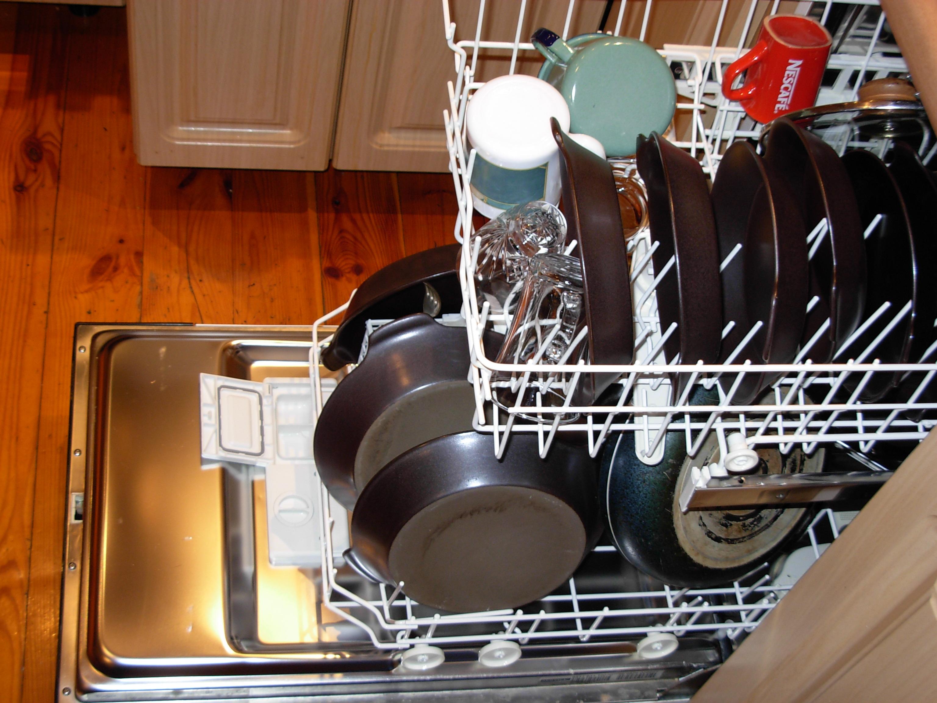 Сковородки в посудомоечной машине