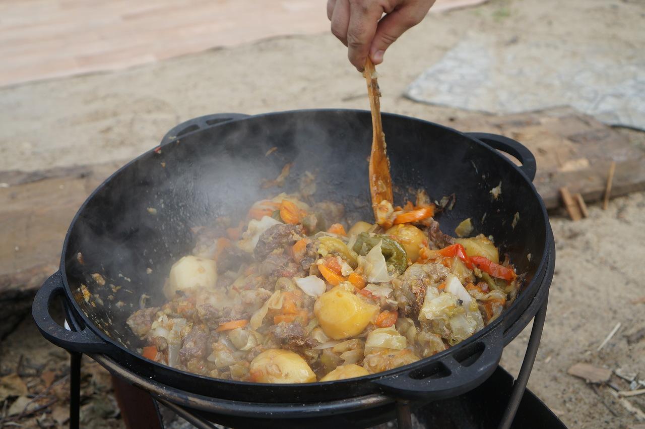 Особенность готовки блюда в казане