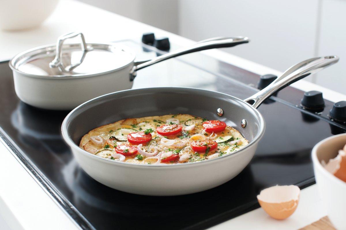 Советы по использованию керамической сковороды