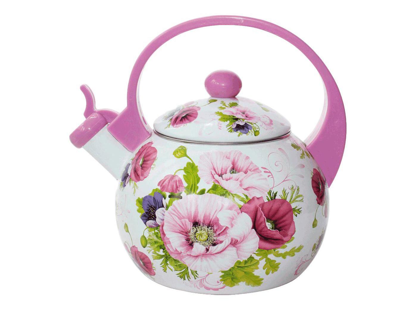 Фото эмалированного чайника