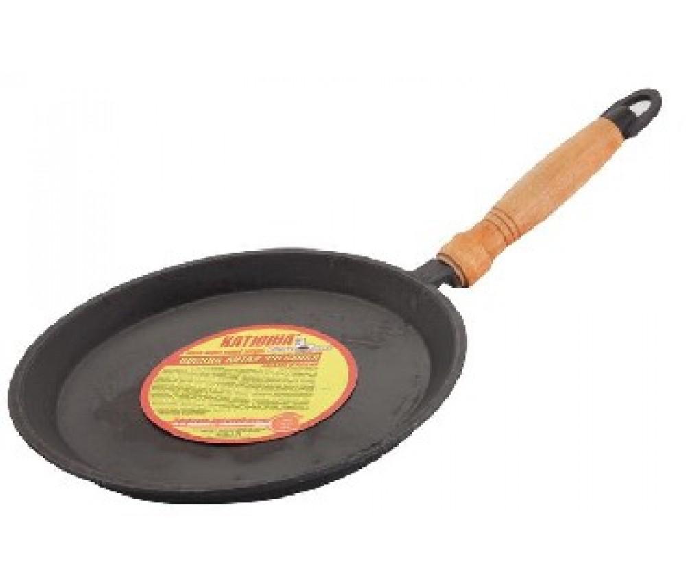 Чугунная сковорода Катюша
