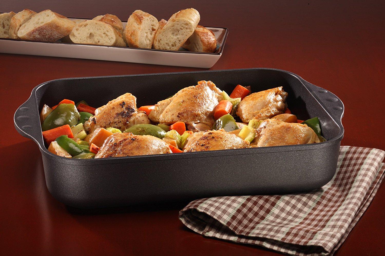 Форма для запекания с мясом и овощами