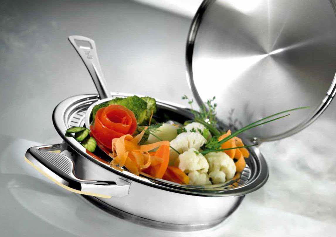 Фото кастрюли Цептер с овощами