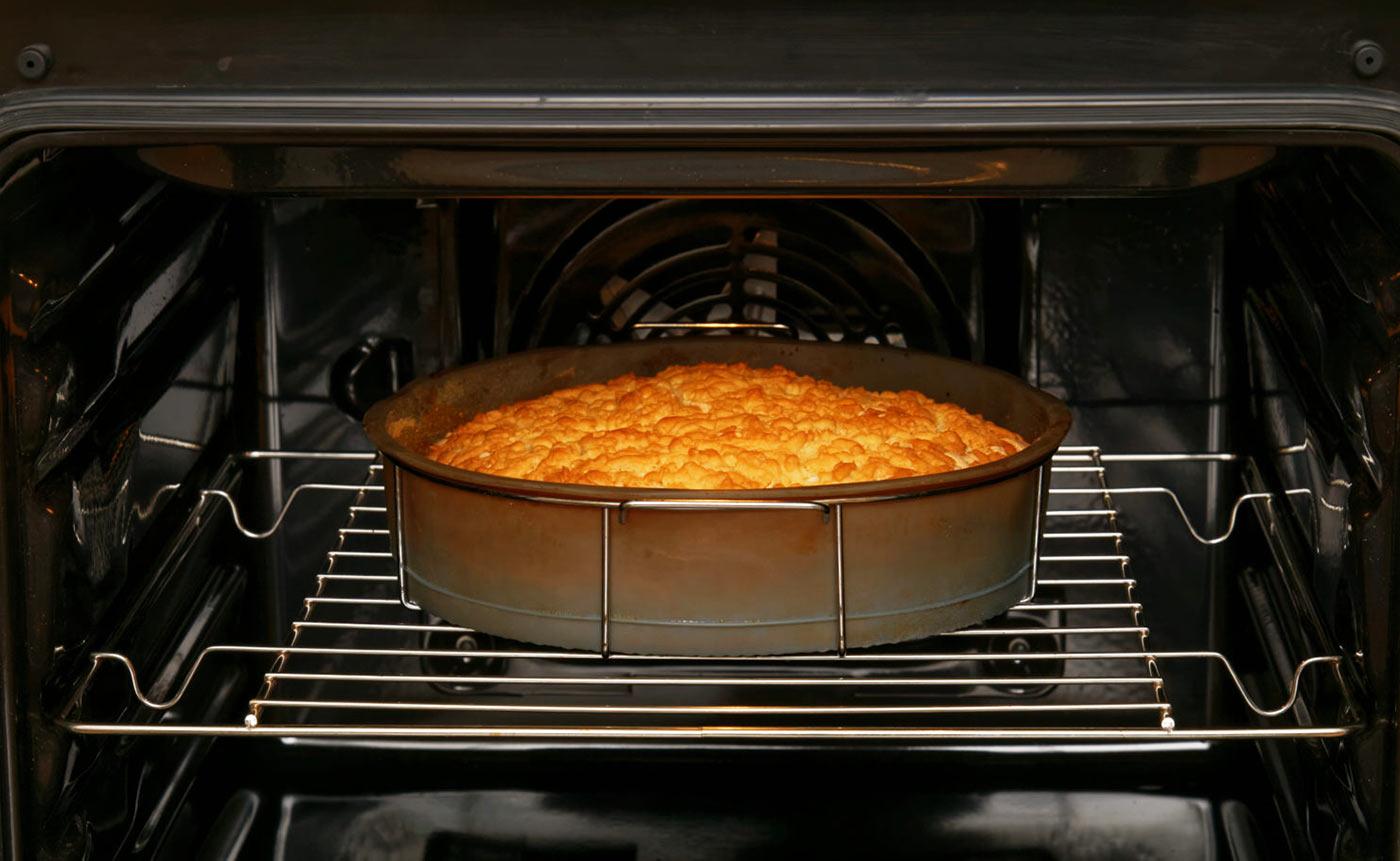 Фото пирога в духовке