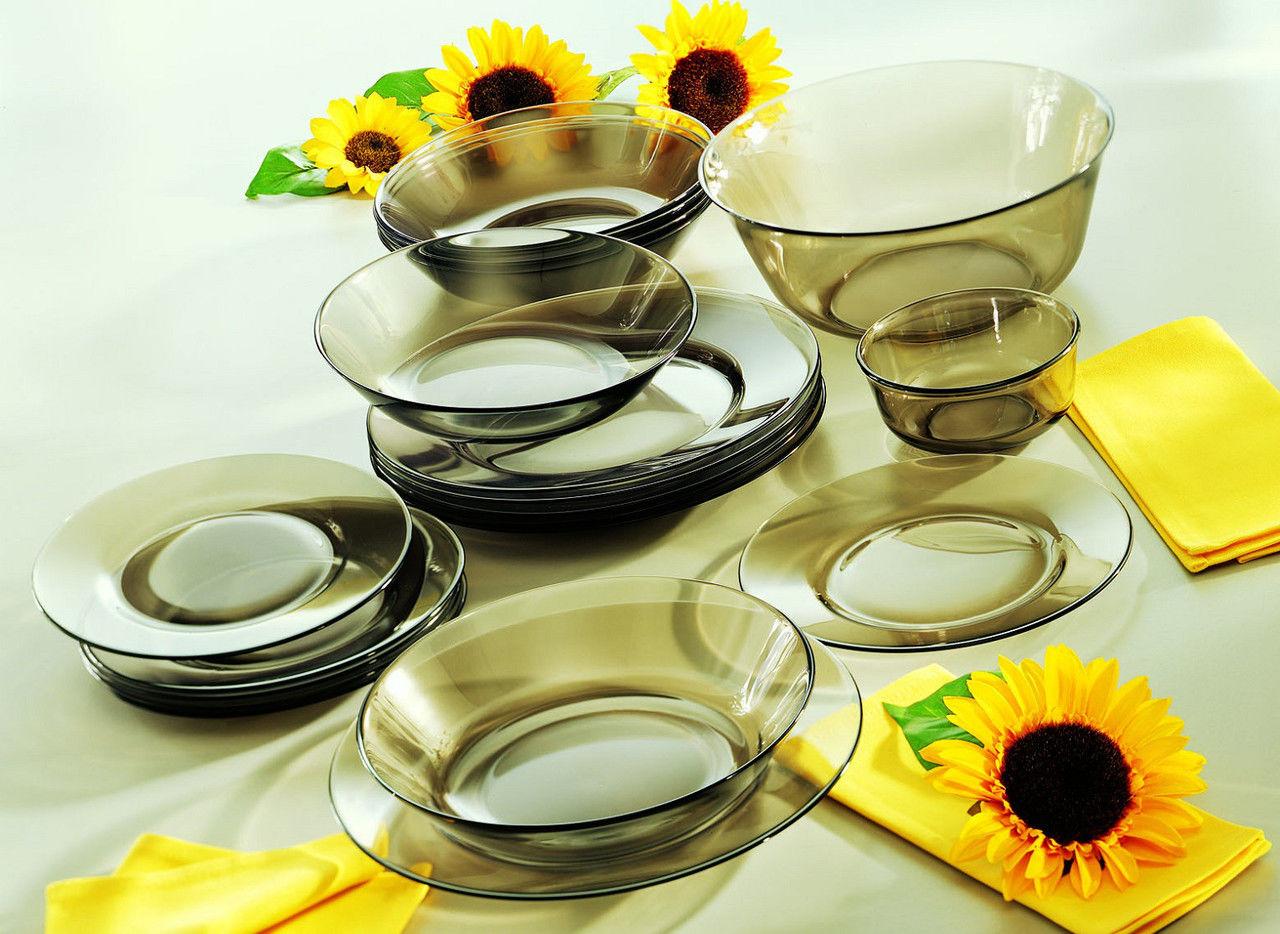 Посуда Люминарк прозрачная