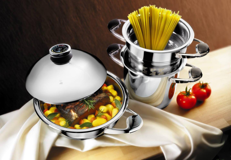 Посуда Цептер с едой