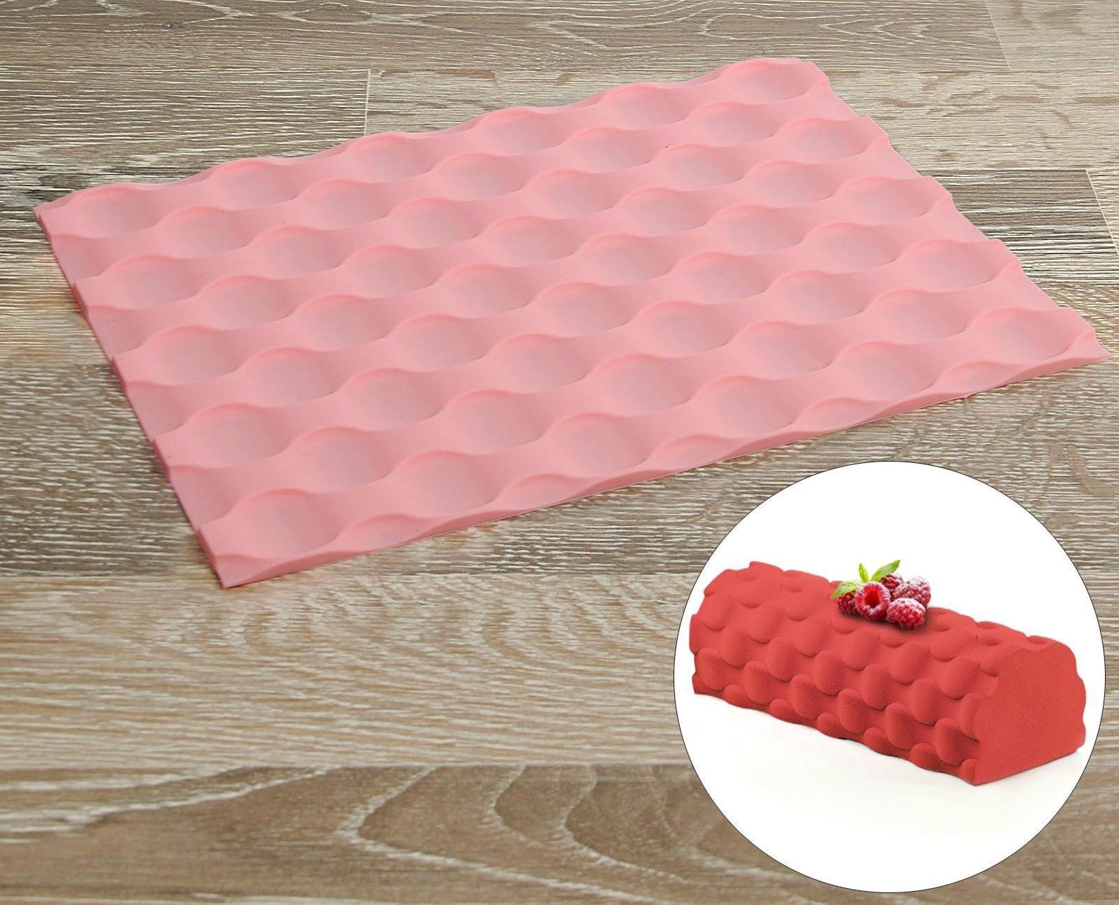 Силиконовый текстурный коврик