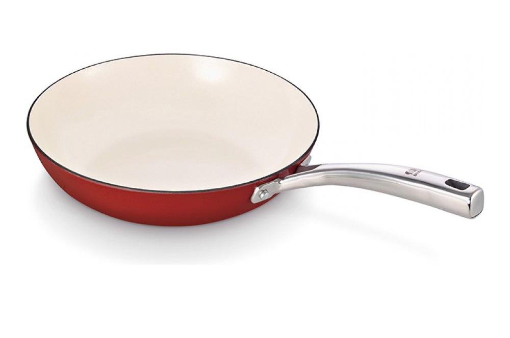 Фото эмалированной сковороды
