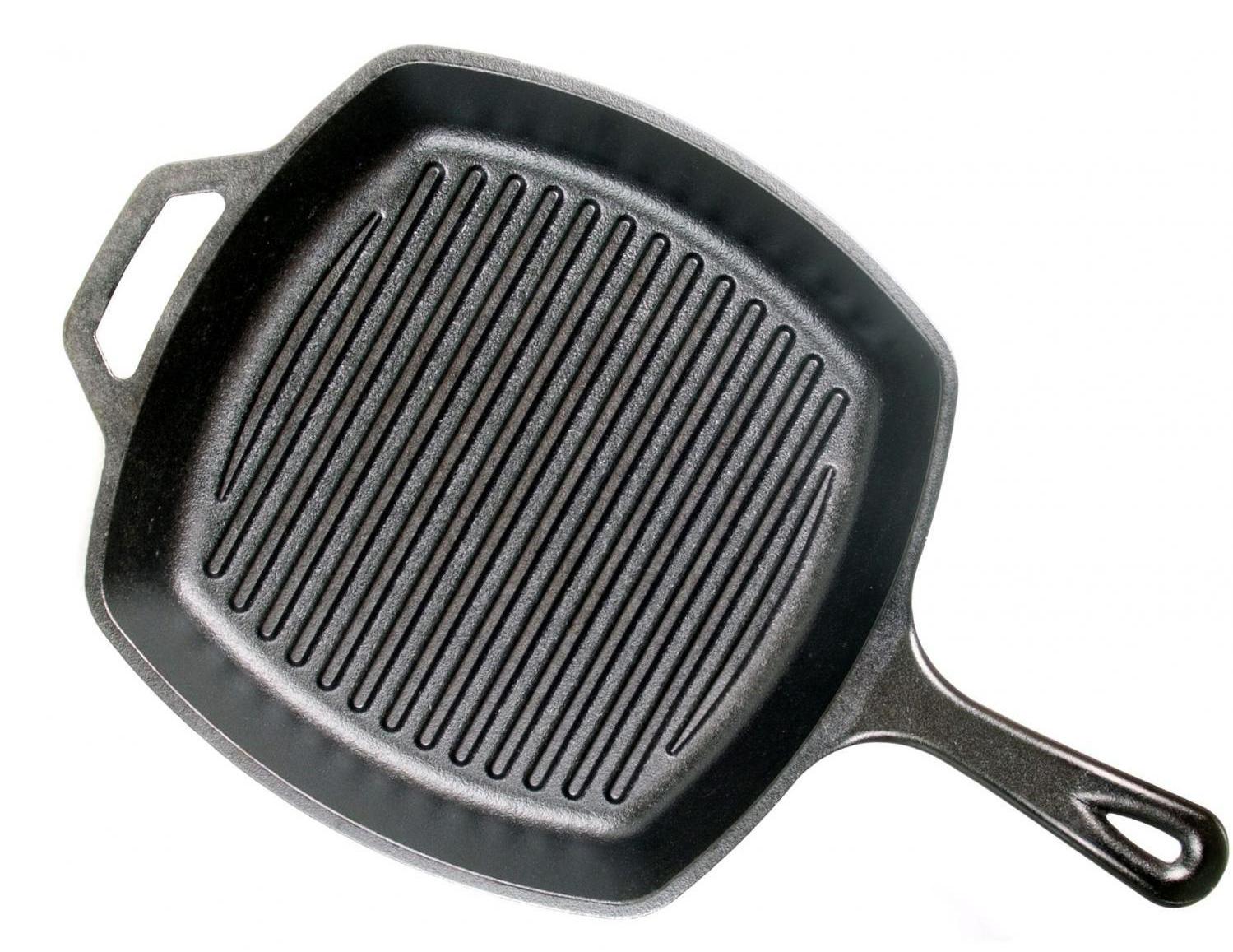 Фото сковороды гриль Lodge