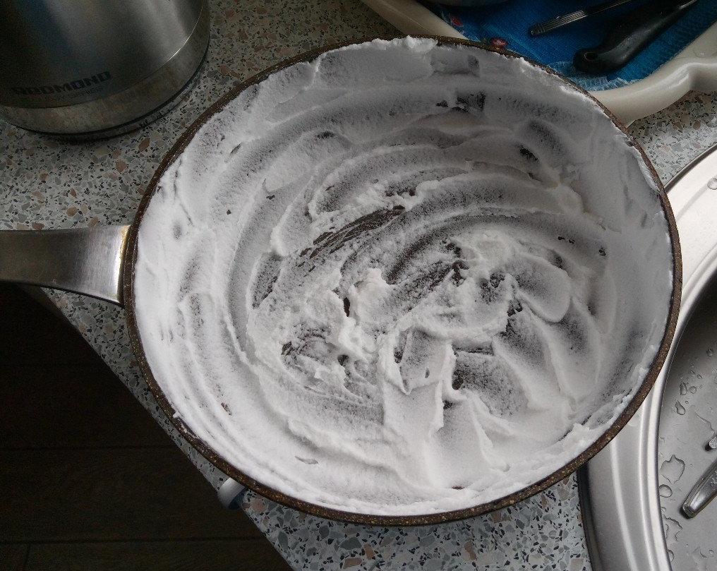 Сковорода с содой