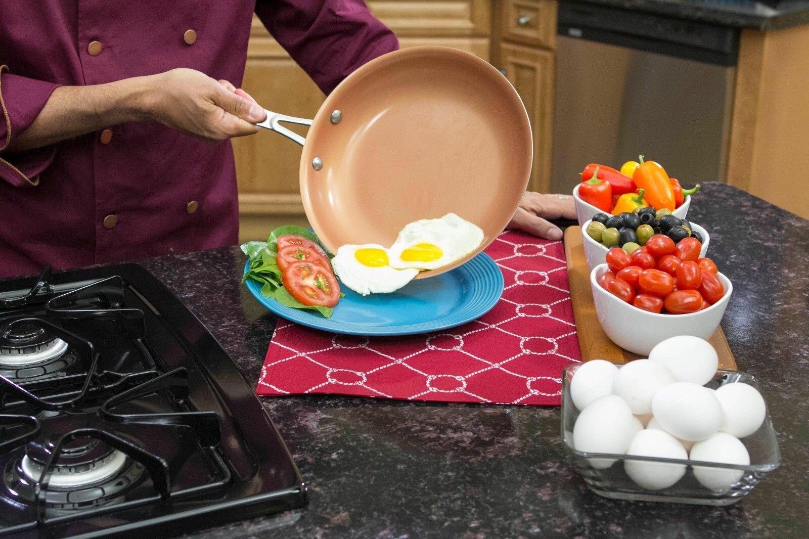 Сковорода ля шеф с продуктами