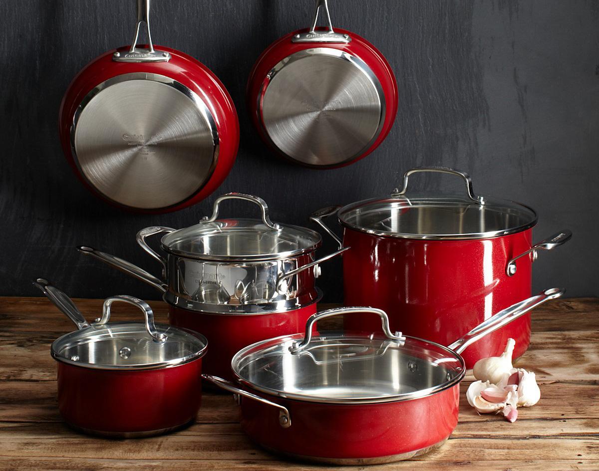 Фото стальной посуды