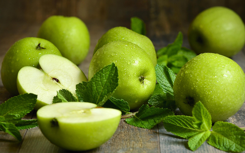 Фото зеленых яблок