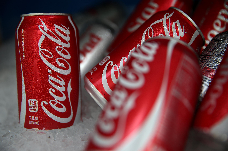 Кока кола для очистки противня