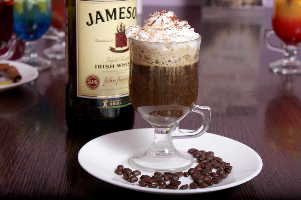 Айриш бокал с кофе