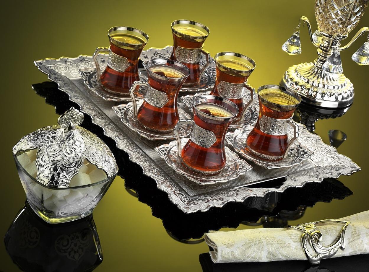 Сервиз с армудами для чая
