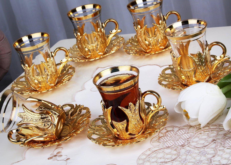 Турецкие армуды для чая