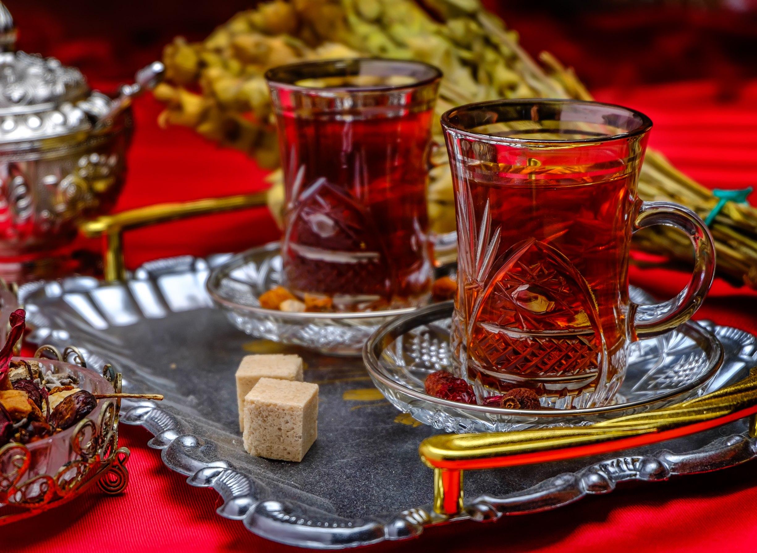 Фото армудов с чаем